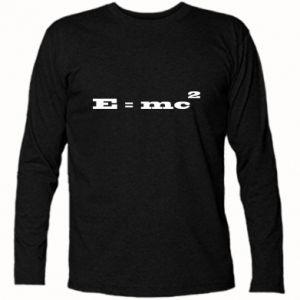 Long Sleeve T-shirt E = mc2