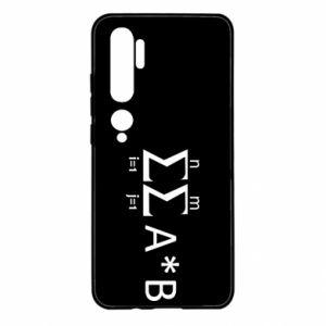 Xiaomi Mi Note 10 Case Formula