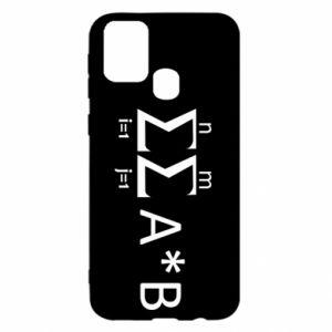 Samsung M31 Case Formula
