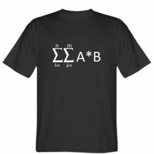 T-shirt Formula