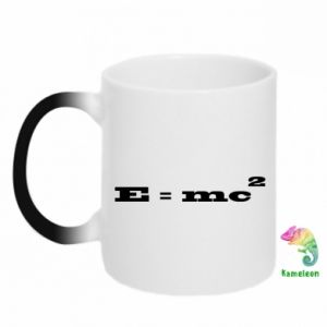 Chameleon mugs E = mc2