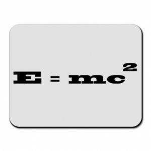 Podkładka pod mysz E = mc2