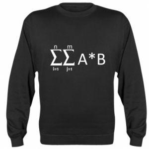 Sweatshirt Formula
