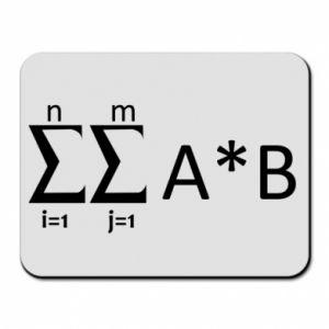Mouse pad Formula