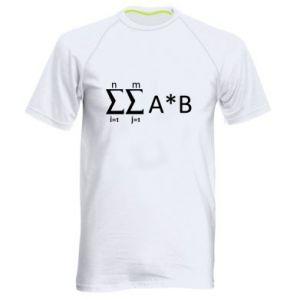 Men's sports t-shirt Formula