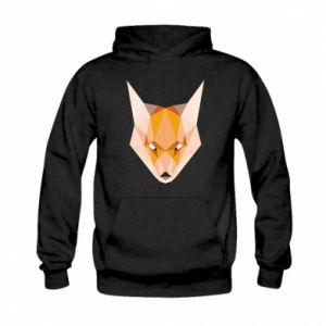 Bluza z kapturem dziecięca Fox geometry