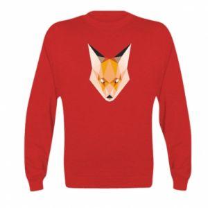 Bluza dziecięca Fox geometry