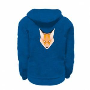 Bluza na zamek dziecięca Fox geometry