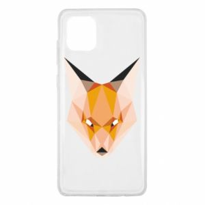 Etui na Samsung Note 10 Lite Fox geometry