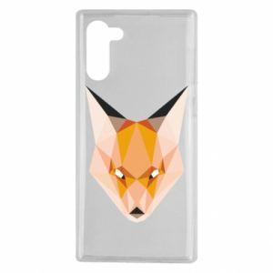 Etui na Samsung Note 10 Fox geometry