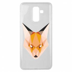Etui na Samsung J8 2018 Fox geometry