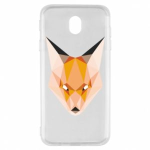 Etui na Samsung J7 2017 Fox geometry