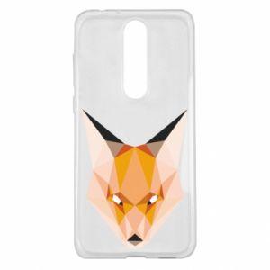 Etui na Nokia 5.1 Plus Fox geometry