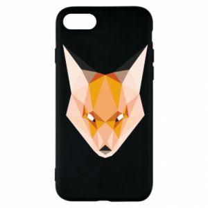 Etui na iPhone SE 2020 Fox geometry