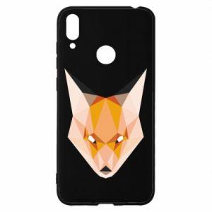 Etui na Huawei Y7 2019 Fox geometry