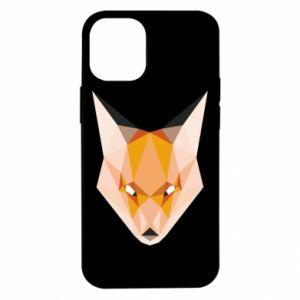 Etui na iPhone 12 Mini Fox geometry