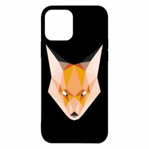 Etui na iPhone 12/12 Pro Fox geometry