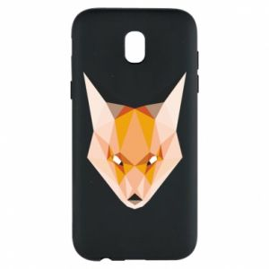 Etui na Samsung J5 2017 Fox geometry