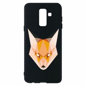 Etui na Samsung A6+ 2018 Fox geometry