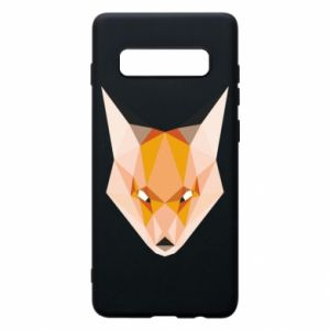 Etui na Samsung S10+ Fox geometry