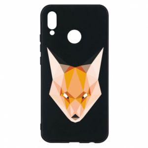 Etui na Huawei P20 Lite Fox geometry