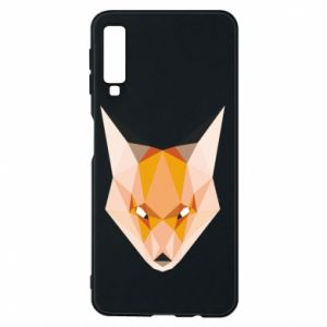 Etui na Samsung A7 2018 Fox geometry