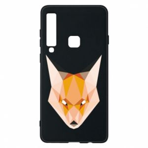 Etui na Samsung A9 2018 Fox geometry