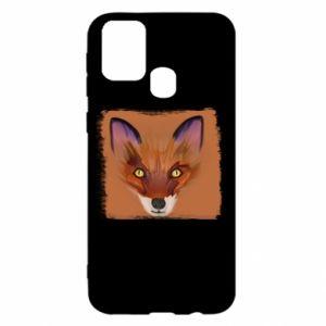 Etui na Samsung M31 Fox on an orange background
