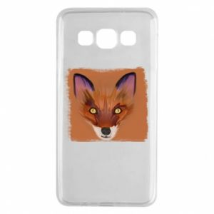 Etui na Samsung A3 2015 Fox on an orange background