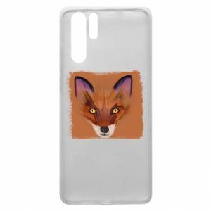 Etui na Huawei P30 Pro Fox on an orange background
