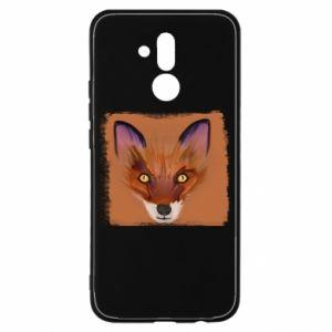 Etui na Huawei Mate 20 Lite Fox on an orange background