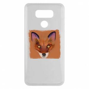Etui na LG G6 Fox on an orange background