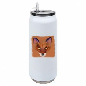 Puszka termiczna Fox on an orange background