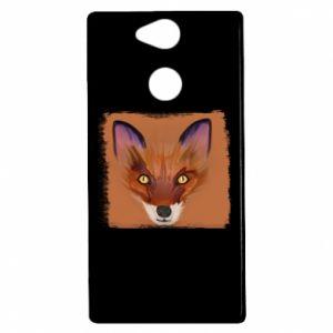 Etui na Sony Xperia XA2 Fox on an orange background