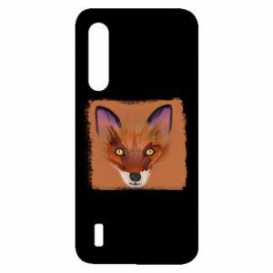 Etui na Xiaomi Mi9 Lite Fox on an orange background
