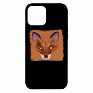 Etui na iPhone 12 Pro Max Fox on an orange background