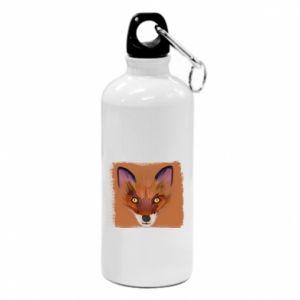Bidon turystyczny Fox on an orange background