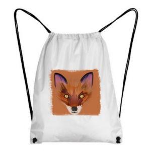 Plecak-worek Fox on an orange background