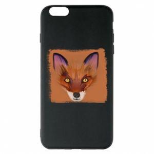 Etui na iPhone 6 Plus/6S Plus Fox on an orange background