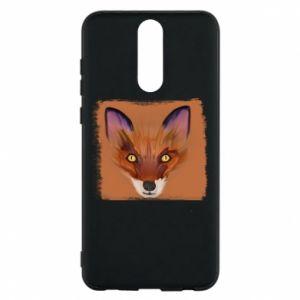 Etui na Huawei Mate 10 Lite Fox on an orange background