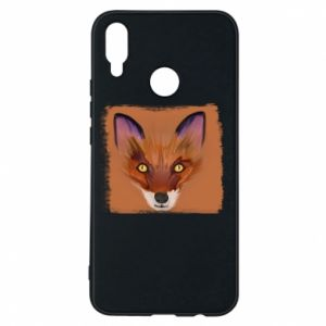 Etui na Huawei P Smart Plus Fox on an orange background
