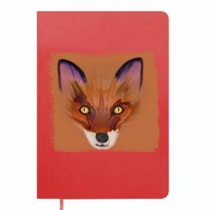 Notes Fox on an orange background