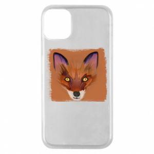 Etui na iPhone 11 Pro Fox on an orange background