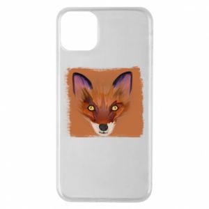 Etui na iPhone 11 Pro Max Fox on an orange background