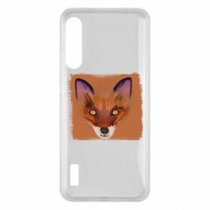 Etui na Xiaomi Mi A3 Fox on an orange background
