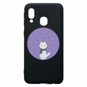 Phone case for Samsung A40 Fox
