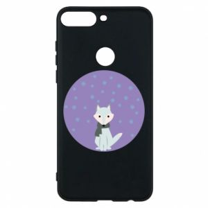 Phone case for Huawei Y7 Prime 2018 Fox
