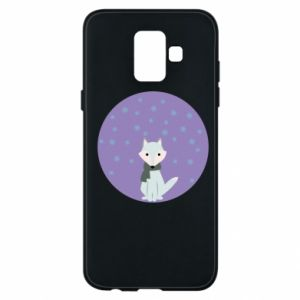 Phone case for Samsung A6 2018 Fox