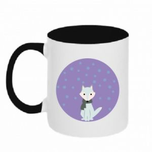 Two-toned mug Fox