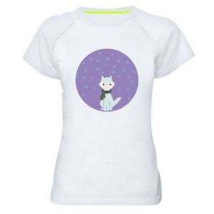 Women's sports t-shirt Fox